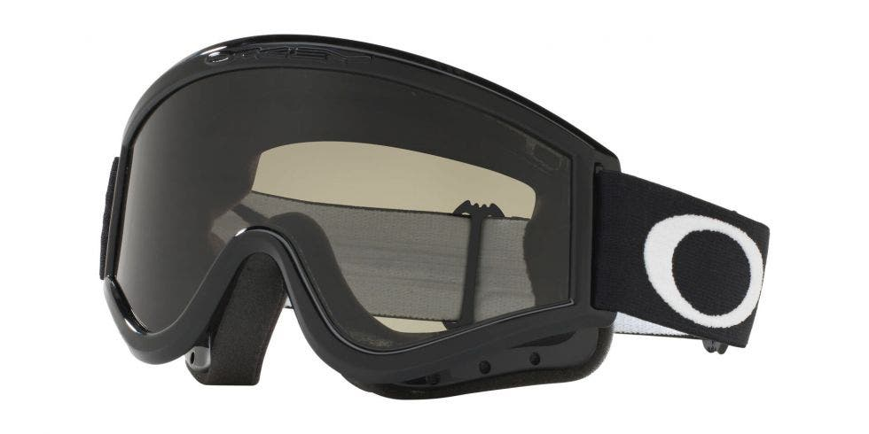 Oakley L-Frame MX Goggle Sand Jet Black - Grey (01-631)