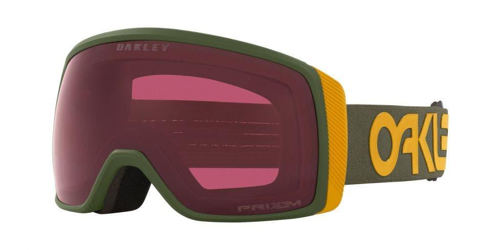 Oakley Flight Tracker XS Snow Goggle Dark Brush Mustard