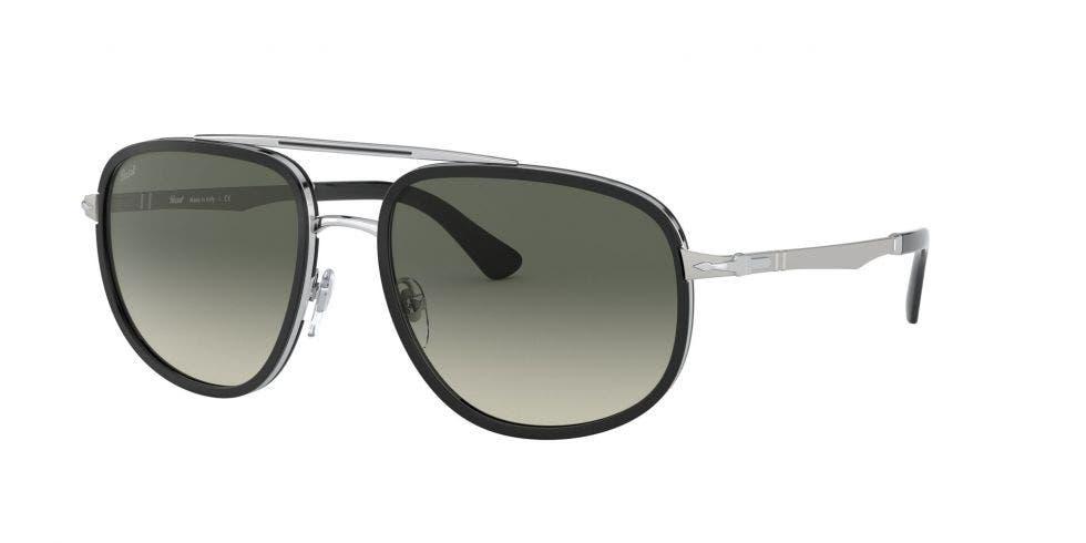 Persol PO2465S Silver / Black 57 Eyesize