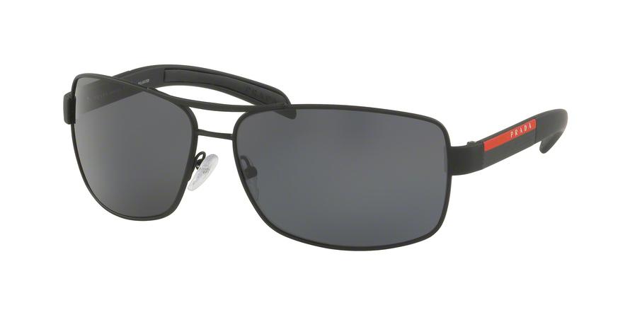 Prada PS 54IS DG05Z1 Black Rubber 65 Eyesize