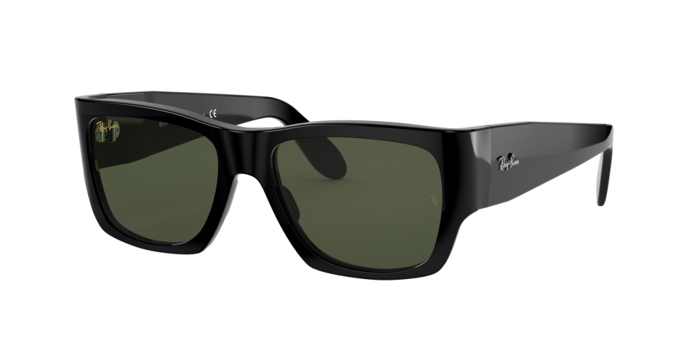 Ray-Ban RB2187 Nomad Shiny Black 54 Eyesize