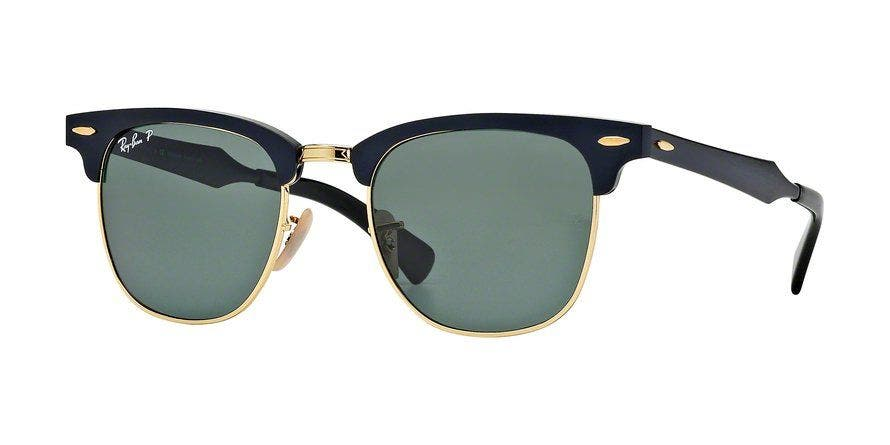 Ray-Ban RB3507 Clubmaster Aluminum Black / Arista 51 Eyesize