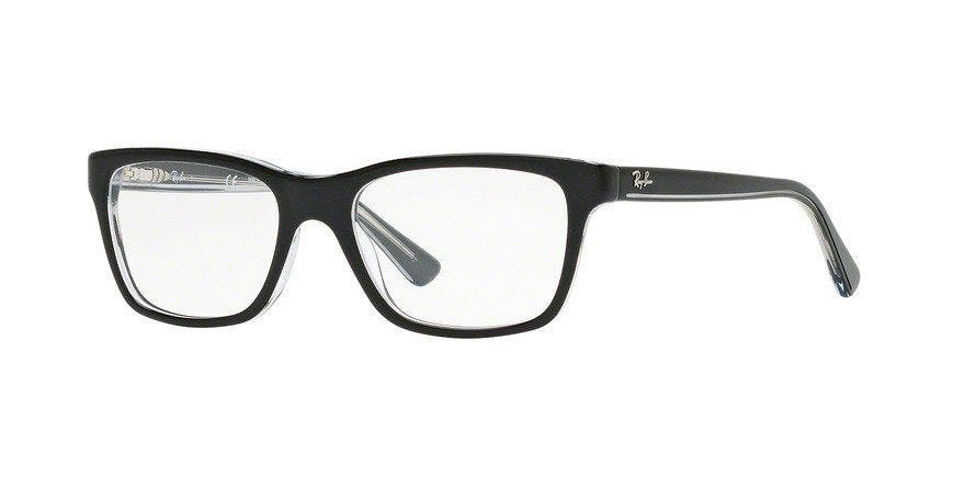 Ray-Ban Junior RY1536 Top Black on Transparent 48 Eyesize