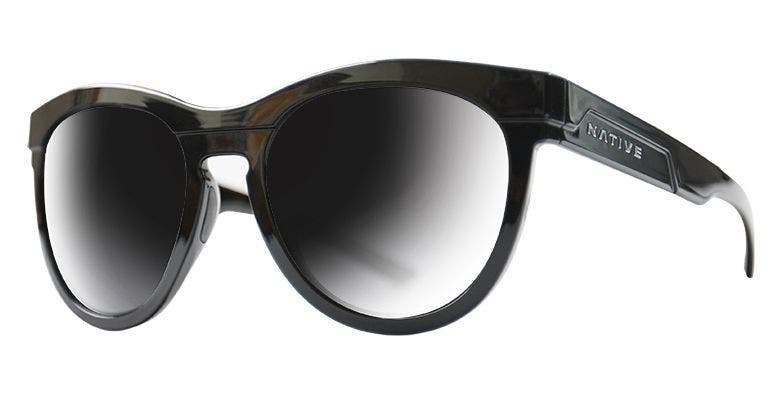 Native Eyewear La Reina Gloss Black