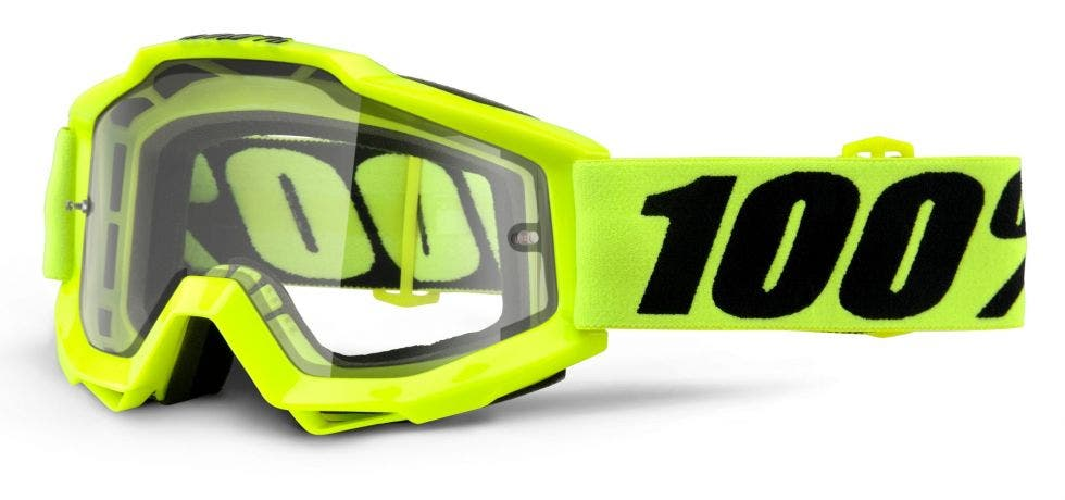 100% Accuri Enduro MTB Goggle Fluo Yellow