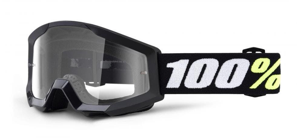 100% Strata Mini MX Goggle Black