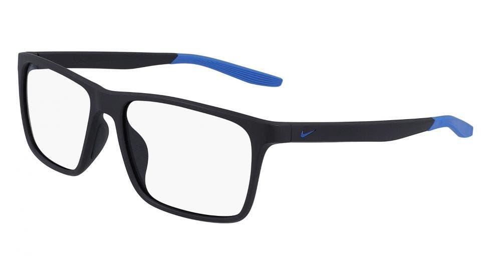 Nike 7116 Matte Gridiron / Pacific Blue