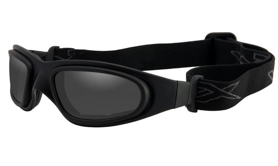 Wiley X SG-1 Matte Black + Pair Lens Gaskets RX