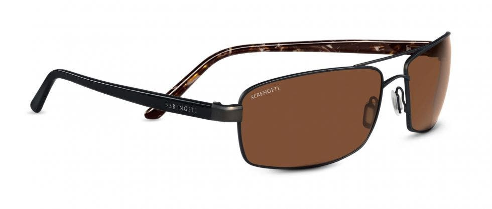 Serengeti San Remo Satin Dark Brown / Black Tortoise RX