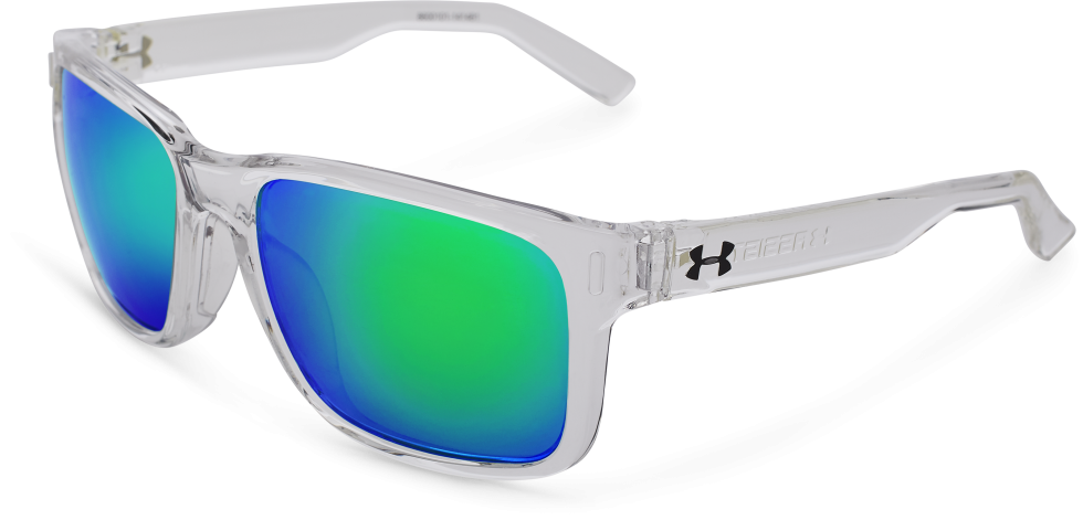 Under Armour Assist Shiny Crystal Clear / Frosted Clear