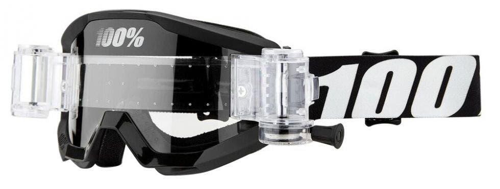 100% Strata Mud MX Goggle Black