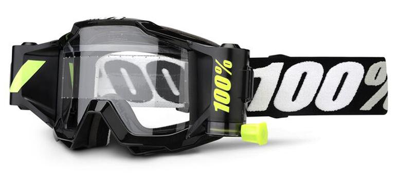 100% Accuri Forecast Youth MX Goggle Black