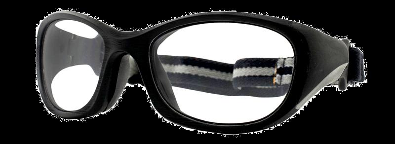 Rec Specs All Pro XL Goggle Shiny Black 60 Eyesize
