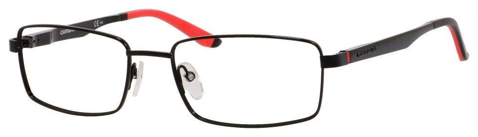 Carrera CA8812/V Shiny Black 55 Eyesize