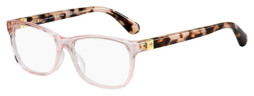 Kate Spade Calley Pink Havana 52 Eyesize