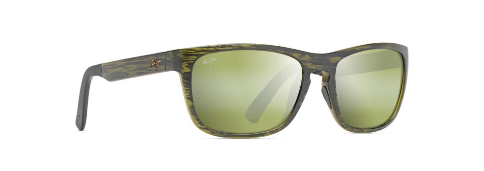 Maui Jim South Swell Matte Green Stripe