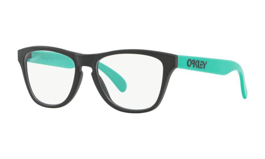 Oakley Frogskins XS RX Satin Black / Celeste 48 Eyesize (OY8009-0148)