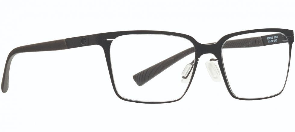 Costa Pacific Rise 200 Matte Black 53 Eyesize