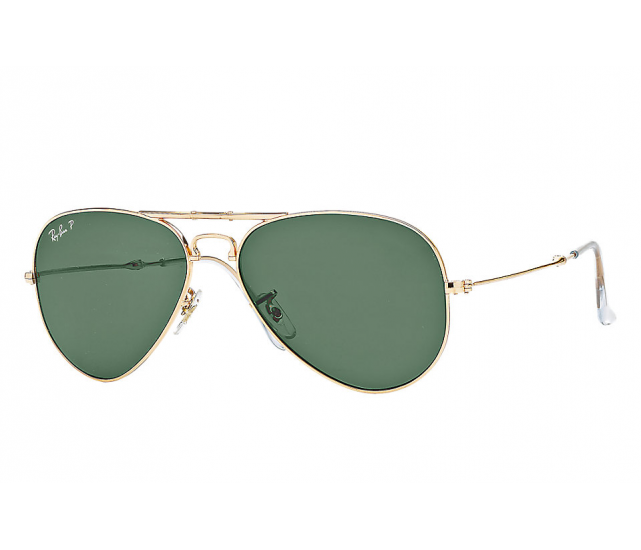 Ray-Ban Junior RJ9506S Aviator Gold w/ Clear Temple Tips 50 Eyesize
