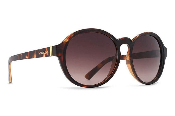 VonZipper Lula Black Tortoise Satin
