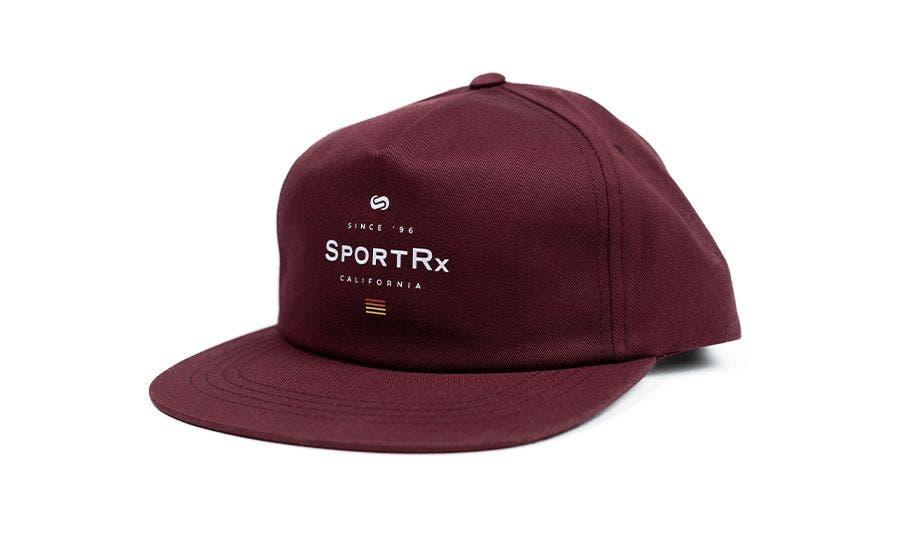 SportRx Snapback Hat Maroon