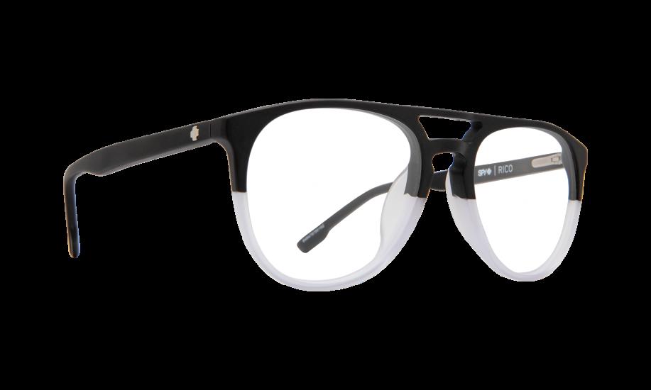 Spy Rico Matte Black / Clear Fade 52 Eyesize