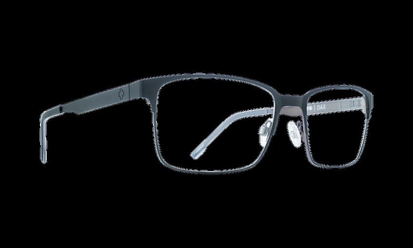 Spy Dax Matte Black / Black Gray 57 Eyesize