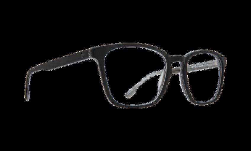 Spy Kipton Matte Black Horn 52 Eyesize