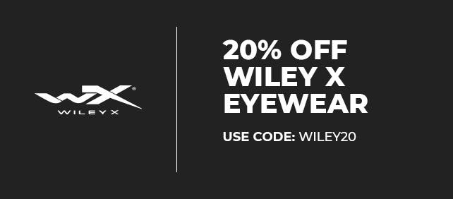 20% off Wiley X