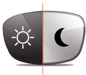 Day & Night - Light Reactive, Prescription Transitions Lenses