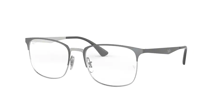 Ray-Ban RB6421 Silver on Top Grey 54 Eyesize