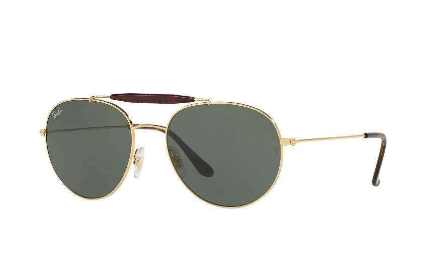 Ray-Ban RB3540 Gold 56 Eyesize