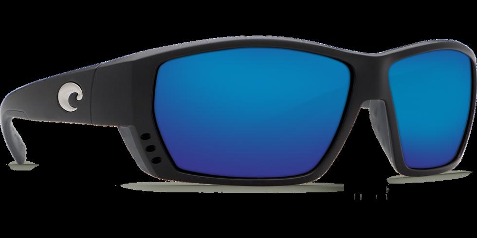 Costa Tuna Alley Sunglasses Crystal//Blue Mirror Glass W580