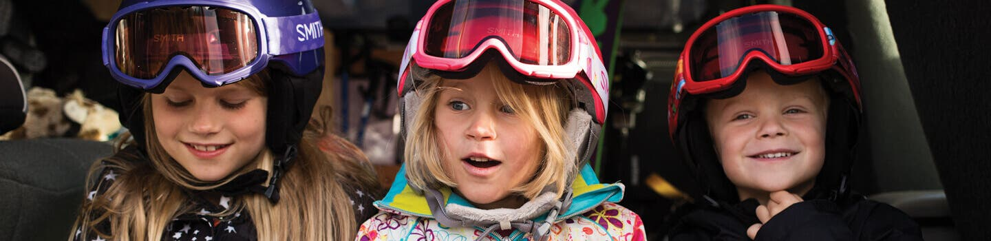 kids ski goggles, kids mx goggles, kids prescription sport goggles