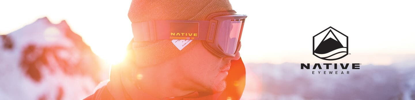 mens native goggles