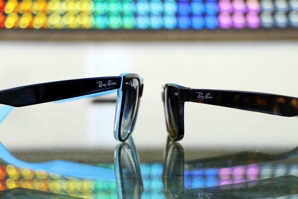 New Wayfarer vs. Original Wayfarer - tilt