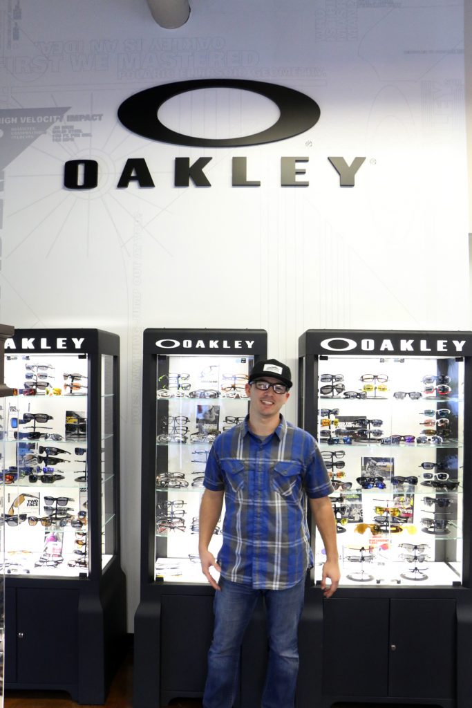 Oakley Crosslink blue