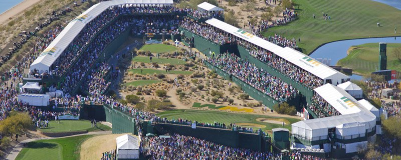 SportRx Sponsors 13th Hole at Waste Management Open