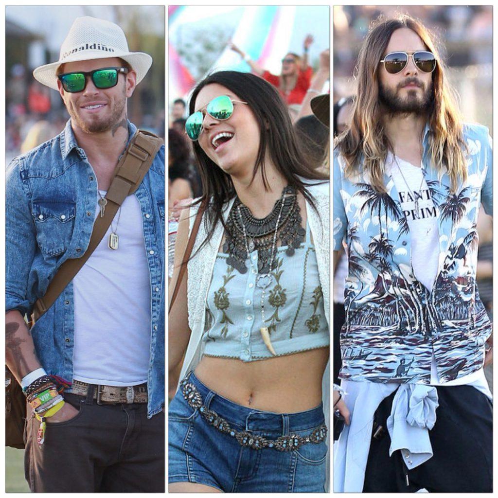 Festival Fashion Sunglasses, Kellen Lutz, Kendall Jenner, Jared Leto