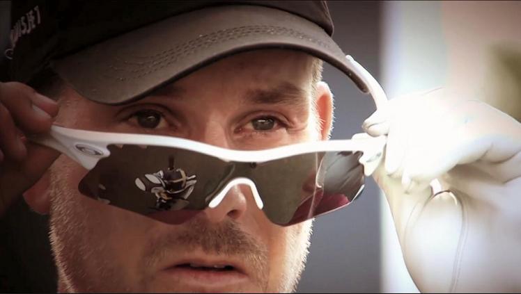 Henrik Stenson wearing Oakley RadarLock Path at 2014 Masters Tournament