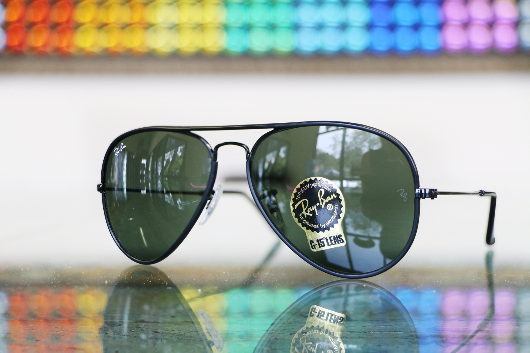 Ray Ban Aviators, RB 3025, Prescription Ray Ban Sunglasses