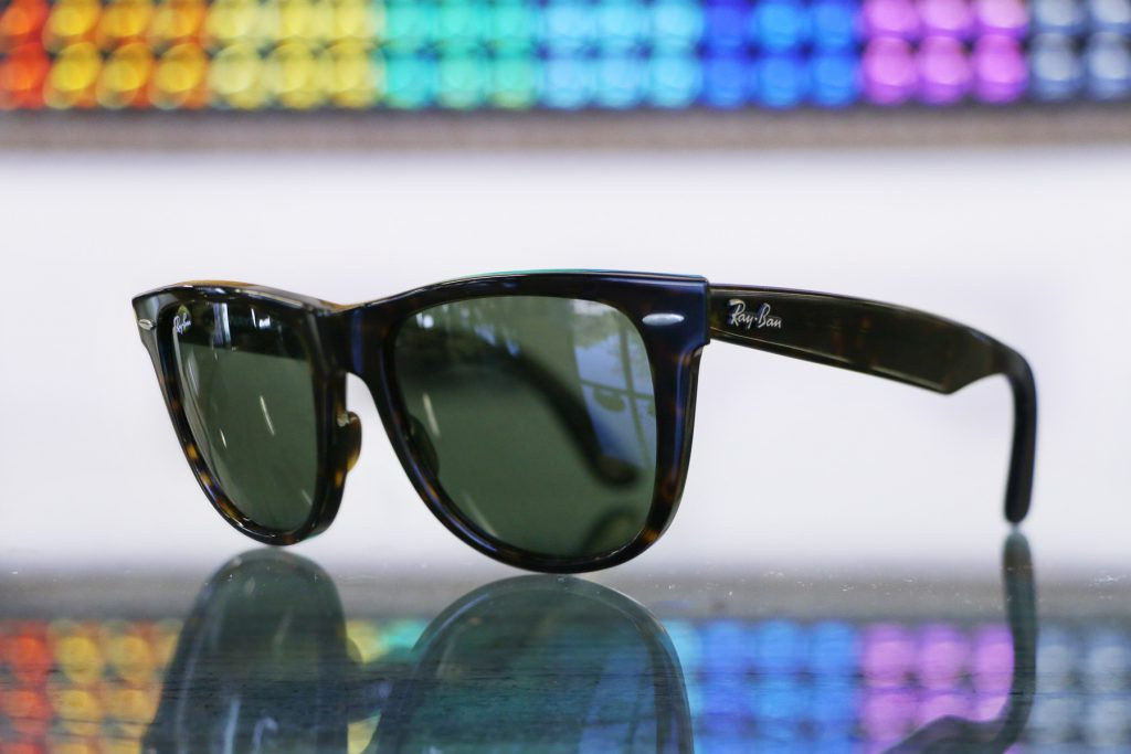 Ray Ban Original Wayfarer 54 eye size