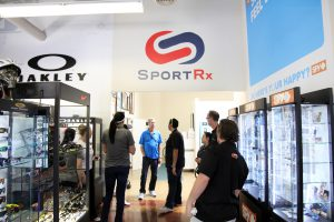 SportRx and Oakley - Blood Drive for Mark Olsen - SportRx Showroom