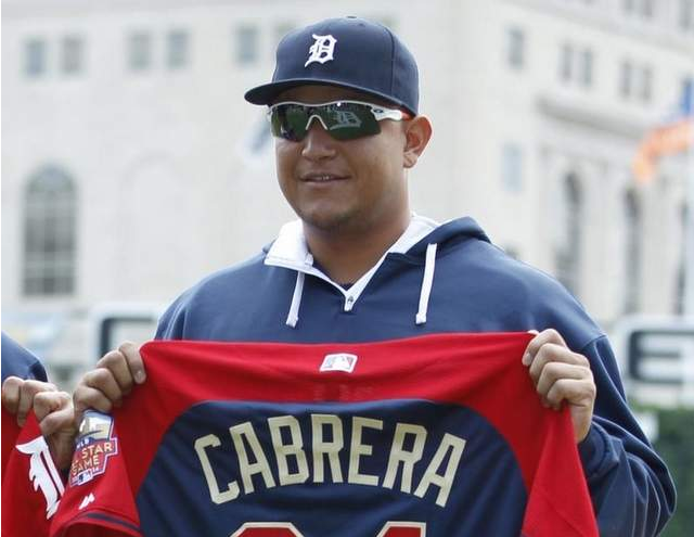 Miguel Cabrera Oakley RadarLock Sungalsses, MLB All Star Game Sunglasses