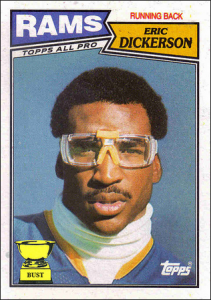 Eric Dickerson goggles, Eric Dickerson Prescription Football Goggles