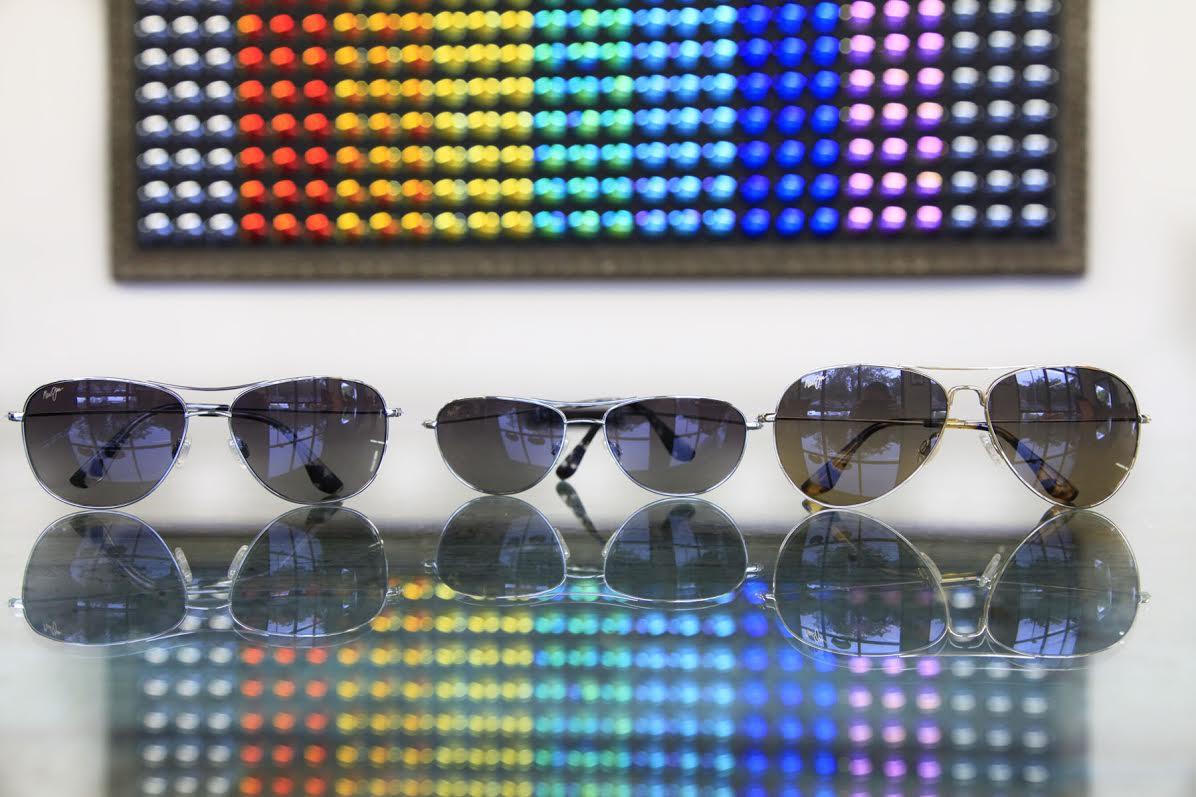 17ba503ef21 Maui Jim Prescription Aviator Sunglasses