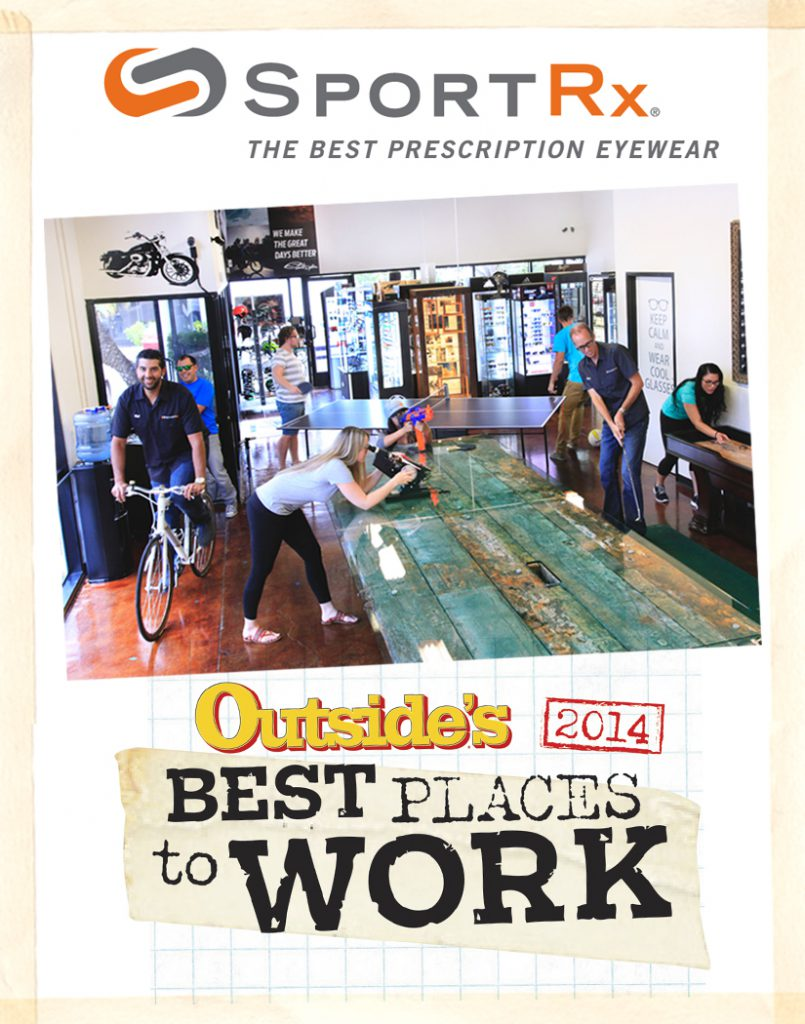 Outside Best Places to Work 2014 - SportRx