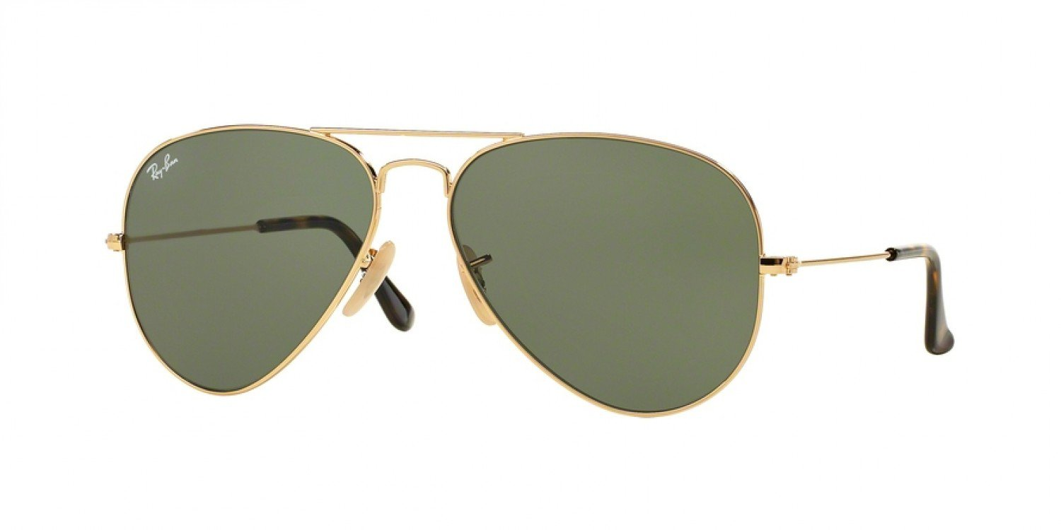 The Ray-Ban RB3025 Aviator sunglasses
