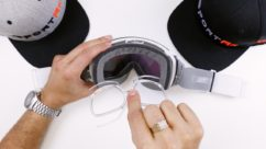 How to: Change your Prescription Goggle Inserts