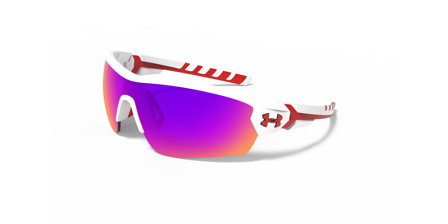 Prescription Under Armour Rival sunglasses.